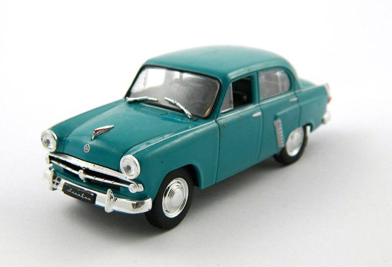 Modelo soviético clásico 1/43, modelo de aleación Moskvich 402, modelo ruso de decoración de coche, envío gratuito