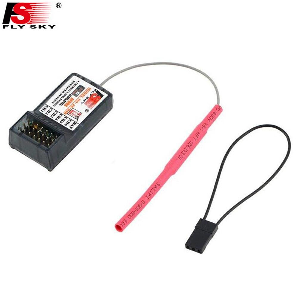 Wholeslae 10pcs Original FlySky FS-R6B FS R6B 2.4G 6CH Receiver For RC Transmitter FS T6 CT6B 9ch TH9X TH9B Drop freeship