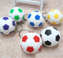 Mode sport porte-clés voiture porte-clés porte-clés Football basket balle de Golf pendentif porte-clés pour cadeaux 3.8cm