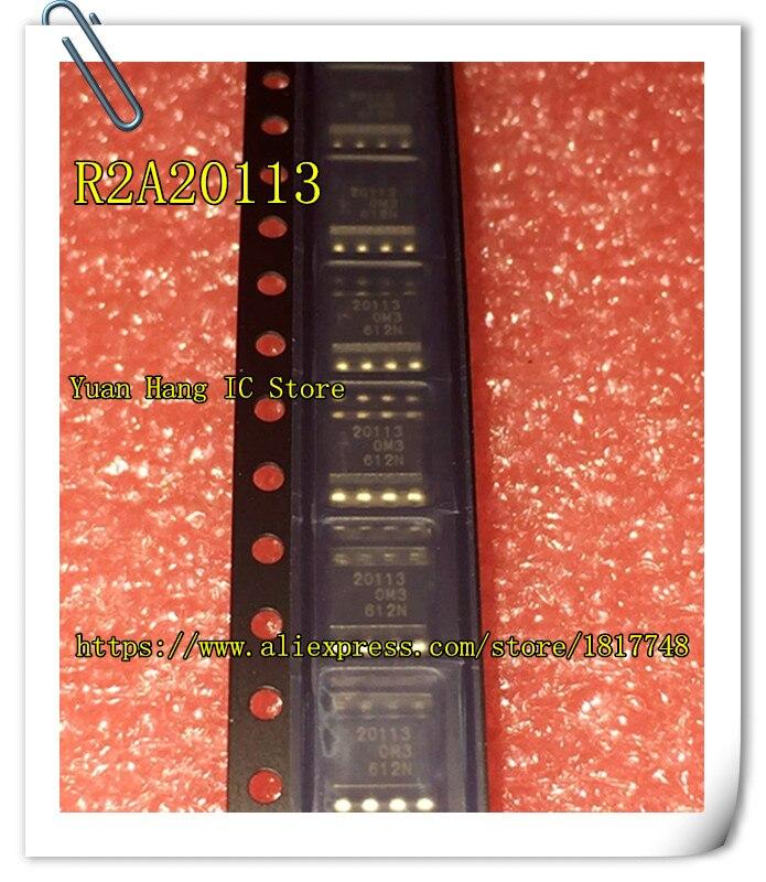 10 unids/lote 20113 R2A20113 R2A20113ASP R2A20113SP SOP-8