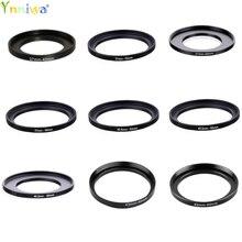 37-49 37-52 37-55 37-58 40.5-52 40.5-55 40.5- 58 43-46 43-49 72-82mm Metal Step Up Rings Adapter Lens Set Filter