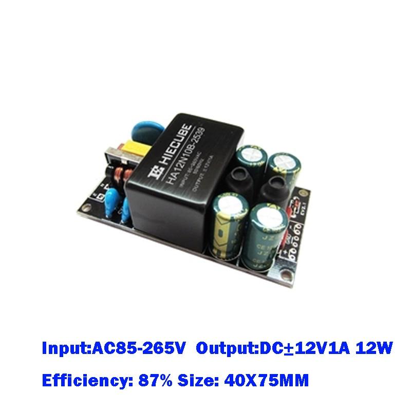 SANMIN-وحدة إمداد الطاقة 220 إلى 12 فولت, 1 قطعة AC110V/220V إلى DC12V/-12v 1A 12w مفتاح معزول وحدة إمداد الطاقة مرشح EMC محول الطاقة L1129