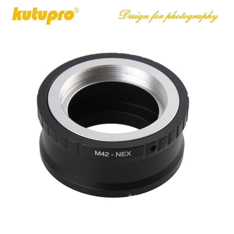 KUTUPRO M42 Винт Объектив камеры конвертер адаптер для SONY NEX E Mount NEX-5 NEX-3-L060 Новый горячий