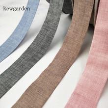 Kewgarden-rubans en Denim mat   Ruban adhésif artisanal, nœud en Satin, ruban demballage fait à la main, bricolage, gros 25 Yards de 1