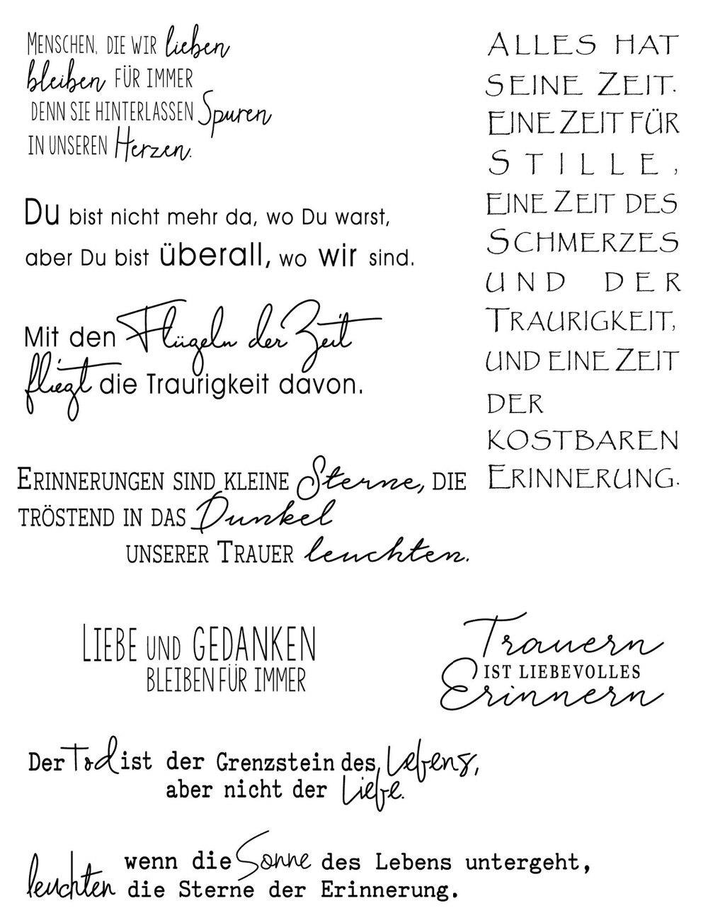 CLARO SELO Alemão Recados DIY Cartão de álbum de selos de artesanato de papel rolo de borracha de silicone transparente R26