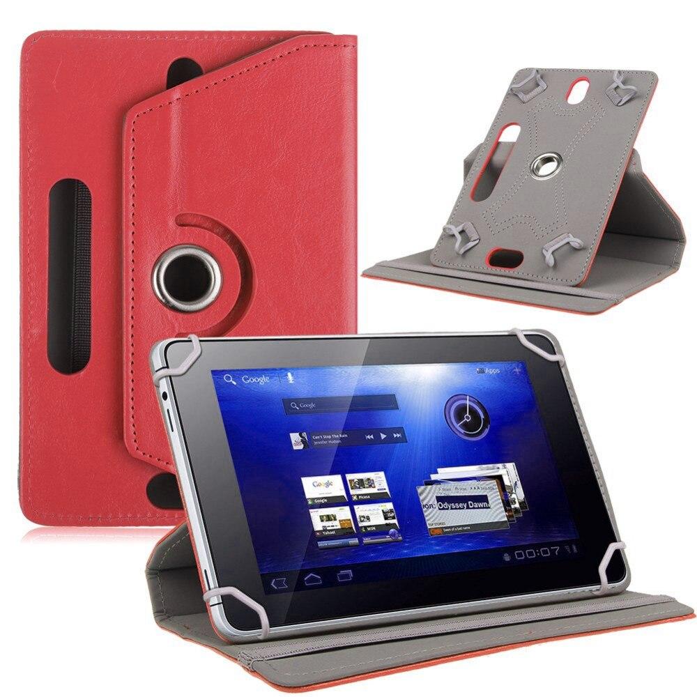 Myslc PU Funda de cuero para Iview SupraPad I700Q 766TPC 744TPC 730TPC 769TPC 736TPC 769 TPCII 733TPC 732TPC 7 pulgadas tablet