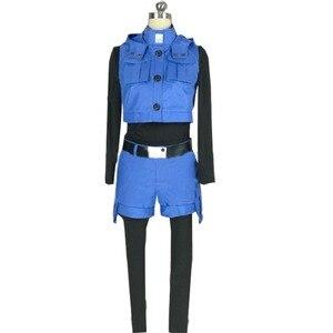 2018 Assassination Classroom Shiota Nagisa blue cosplay costume