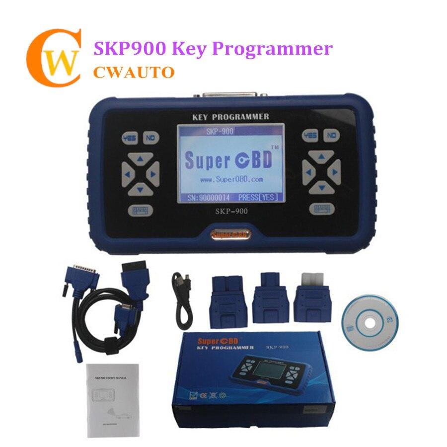 Skp900 v5.0 programador chave do automóvel suporte quase carros da marca skp 900 inglês língua vida atualização online