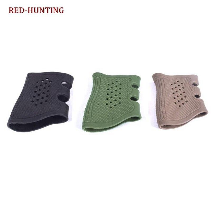 Funda antideslizante de goma para pistola de alta calidad para Glock Series USP T12 CZ75, la mayoría de pistolas de pistola de accesorio