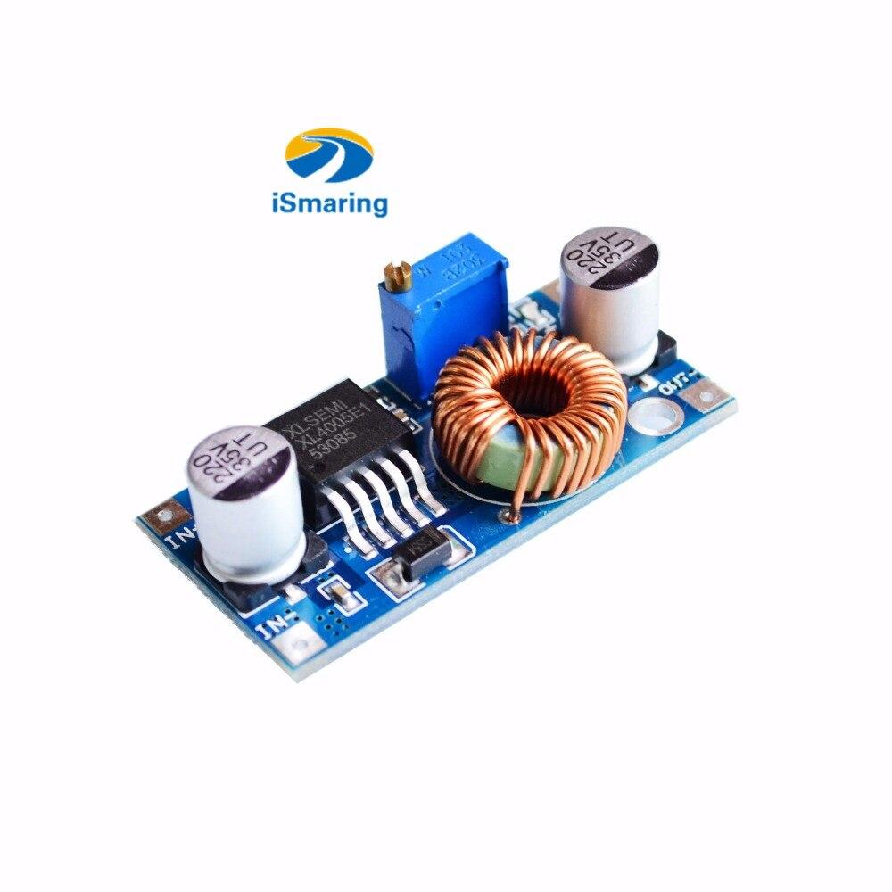Offizielle iSmaring 5A Max DC-DC XL4005 Step Down Einstellbare Power Supply Module LED Lithium-Ladegerät Bord Diy RC Spielzeug Kit elektr