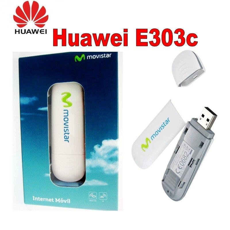 Modem sem Fio para a Caixa de tv por Satélite Unidades Lotes Huawei E303 E303c 4g 3g Trabalho Dongle Usb 100 –