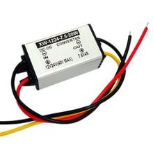 Convertisseur de tension cc 12V/24V(9-40V)   Convertisseur dalimentation régulateur de tension cc 12V/24V) bas à 7.5V 4A 30W