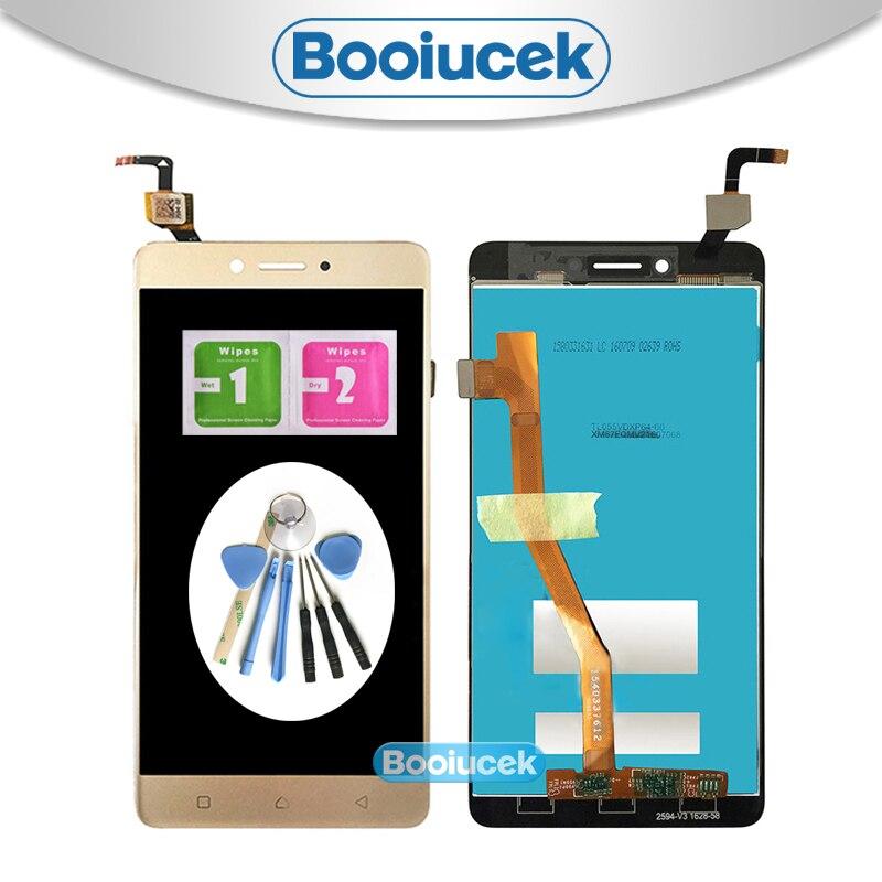 Pantalla LCD de alta calidad de 5,5 pulgadas para Lenovo K6 Note con montaje de digitalizador con pantalla táctil + herramienta