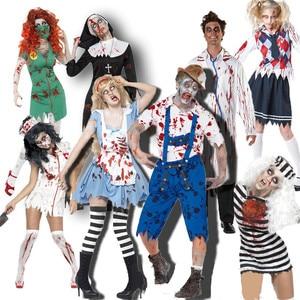 Fantasia Disfraz Halloween Dress Scary Horror Costumes Vampire Costume disfraces halloween mujer