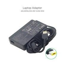 Nieuwe 20 V 3.25A 65 W Slanke USB Pin AC DC Adapter voor Lenovo Ideapad Yoga 13 Ultrabook ADLX65SLC2A 36200351 45N0359 PA-1650-37LC