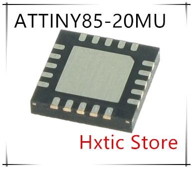 جديد 10 قطعة/الوحدة ATTINY85 ATTINY85-20MU QFN