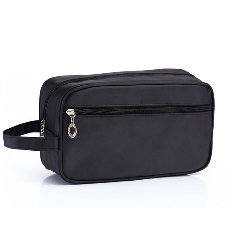 Men Travel Makeup Bag Professional Zipper Cosmetic Case Make Up Bath Organizer Storage Pouch Toiletry Wash Beauty Kit Bath Box