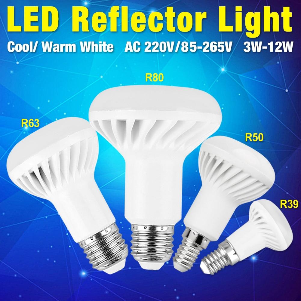 R39 R50 R80 R63 LED LAMPE ENERGIESPARENDE PERLE REFLEKTOR LAMPE KORRIDOR AC220V 85-265V E14 E27 3W 5W 7W 9W 12W FÜR HOTELS BELEUCHTUNG