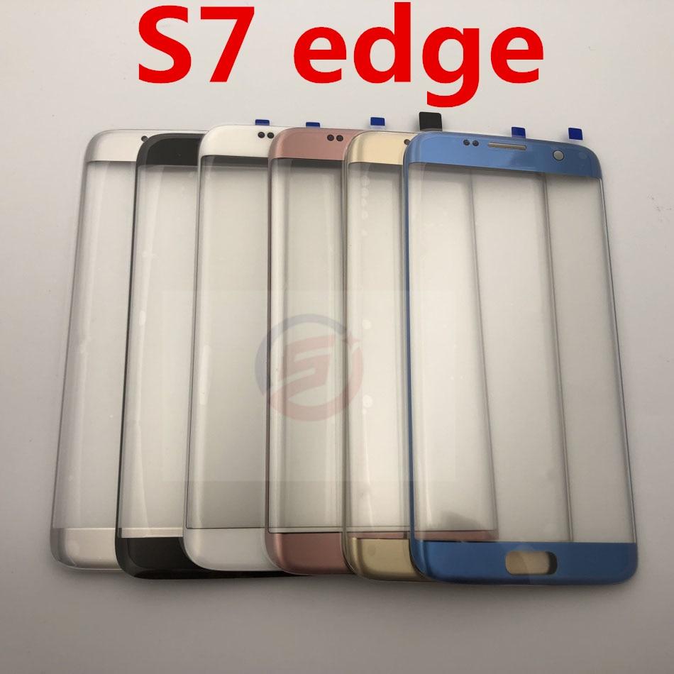 LCD קדמי מסך מגע חיצוני זכוכית עדשה עבור Samsung Galaxy S7 קצה G935 G935F מגע פנל