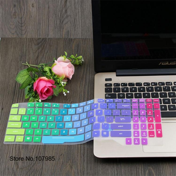 15.6 capa protetora para teclado de laptop, pele para asus tuf gaming fx504 fx504ge fx504gd fx504gm fx504g fx503 fx503vd