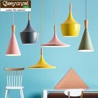 Qiseyuncai 2018 Nordic living room single head glass chandelier creative fish float hotel restaurant bar art lighting
