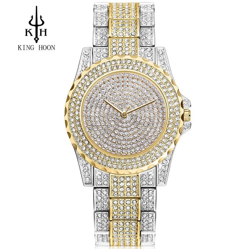 Women Watches KING HOON top Famous Brand Luxury Casual Quartz Watch Female Ladies Watches Women Wristwatches Relogio Feminino