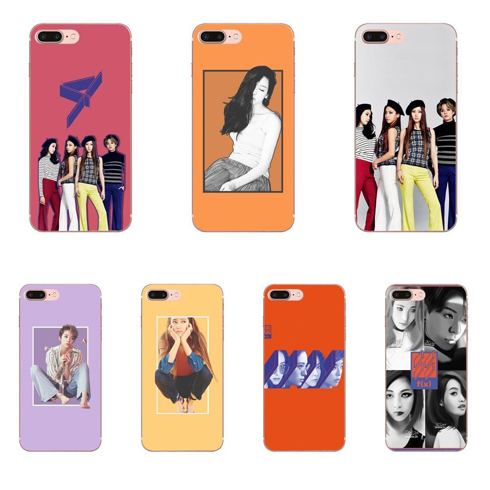 Soft Pattern Phone F(x) Kpop For HTC 530 626 628 630 816 820 One A9 M7 M8 M9 M10 E9 U11 Moto G G2 G3 G4 G5 G6 G7