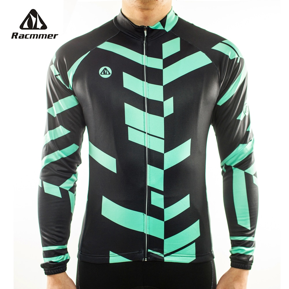 Racmmer 2020 Radfahren Jersey Langarm Mtb Kleidung Bike Wear Kleidung Kit Fahrrad Maillot Roupa Ropa De Ciclismo Hombre # CX-04