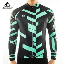Racmmer 2020 camisa de ciclismo manga longa mtb roupas bicicleta wear kit bicicleta maillot ropa de ciclismo hombre # CX-04