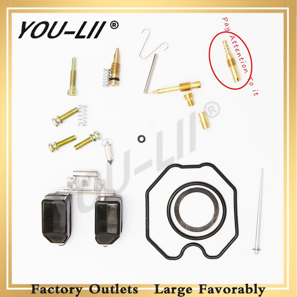 YOULII Straddle Type Motorcycle Keihin Carburetor PZ 26/27/30 Repair Kits CG 125/150/250 Carb (normal configuration)
