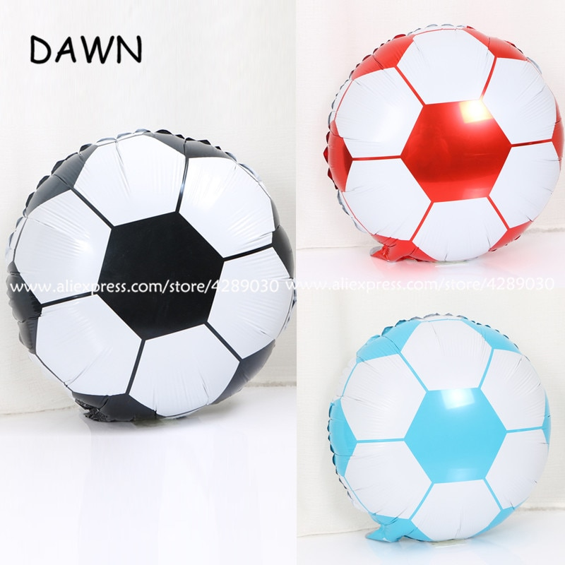 1 teile/los 18 zoll Runde Sport Ball Form Folie Ballons Multicolor Fußball Luftballons Kinder Geburtstag Party Geschenke ballon