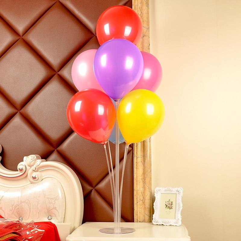 70cm Balloons Stand Balloon Holder Column Confetti Balloon Baby Shower Kids Birthday Party Wedding Decoration Supplies