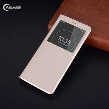 Coque Flip en cuir portefeuille coque de téléphone pour Sony Xperia XZ Premium XZ2 Compact XZ3 XZP F8331 H8216 G8141 G8142 H4113 H8314 2 3 XZS