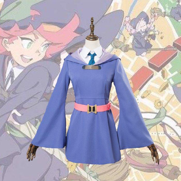Disfraz de Cosplay de la Academia Little Witch Atsuko Akko Kagari