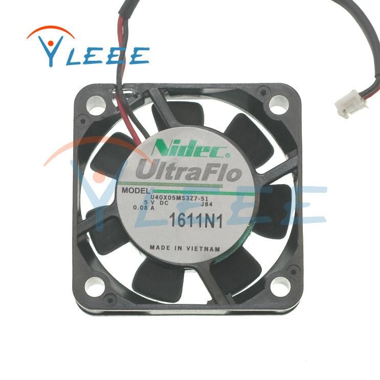 Nidec 4CM U40X05MS3Z7-51 U40X05ML27-51 0.1a 4010 5V 0.08A ventilador de refrigeración