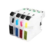 UP 10sets LC663 LC665 LC669 리필 잉크 카트리지 호환 Brother MFC-J2320 mfc J2320 J2720 프린터 (ARC 포함) MFC-J2720
