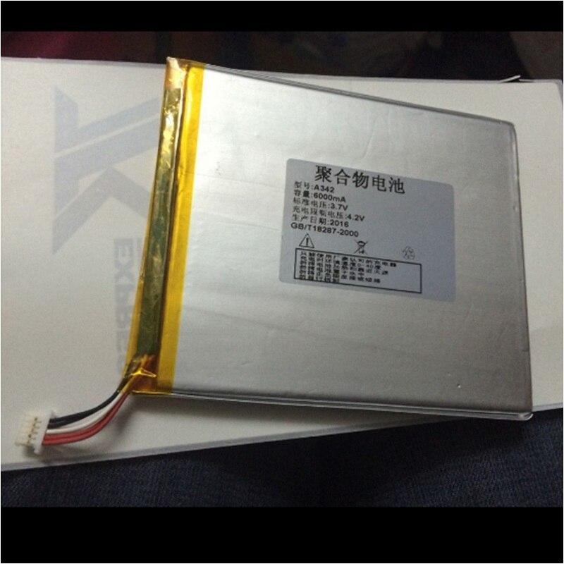 Аккумулятор для Onda V80 & Plus & SE Tablet PC Li-po литий-полимерный перезаряжаемый аккумулятор Замена 3,7 V 5000mAh 6000mAh