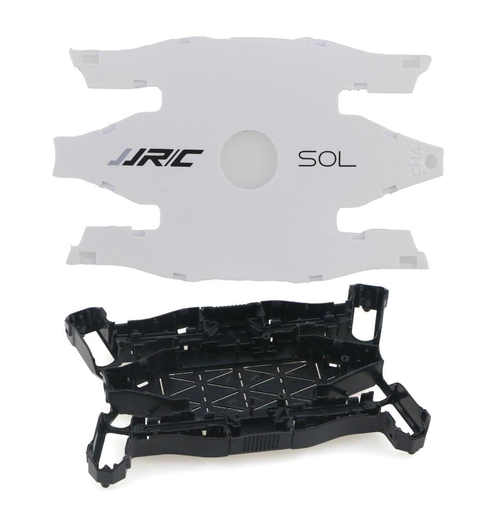 Jjr/c jjrc h49 ultra fino dobrável drones selfie rc zangão peças de reposição H49-01/02 superior e inferior embalagem corpo escudo