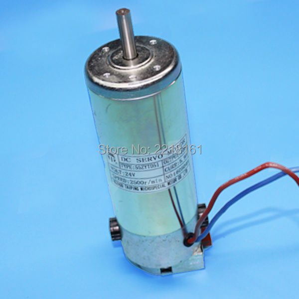 Impresora de gran formato infinito DC servo motor 2500r/min para Infiniti Aprint Ateco Fina X motor/motor 24V 100W