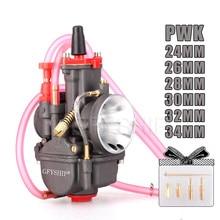Carburateur universel 250CC 350CC PWK   Carburateur pour Mikuni Dellorto Koso avec Power Jet 24MM 26MM 28MM 30MM 32MM 34MM