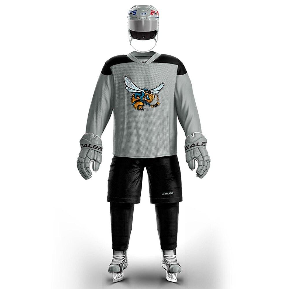 Джетс Бесплатная доставка винтажные хоккейные тренировочные трикотажные