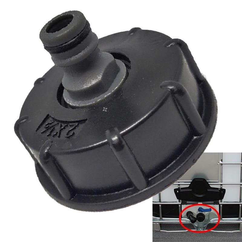 Adaptateur de tuyau IBC   Connecteur de réducteur, raccord de réservoir deau, filetage brut Standard de 2 , stockage de robinet de tuyau de jardin Durable 1 pièce