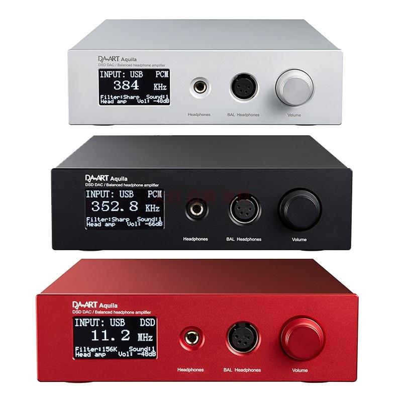Yulong Aquila DAART Audio Decoder OLED TPA6120 AK4497 USB SPDIF DSD DAC Ausgewogene Pre-AMP Kopfhörer Verstärker Für IOS android MAC