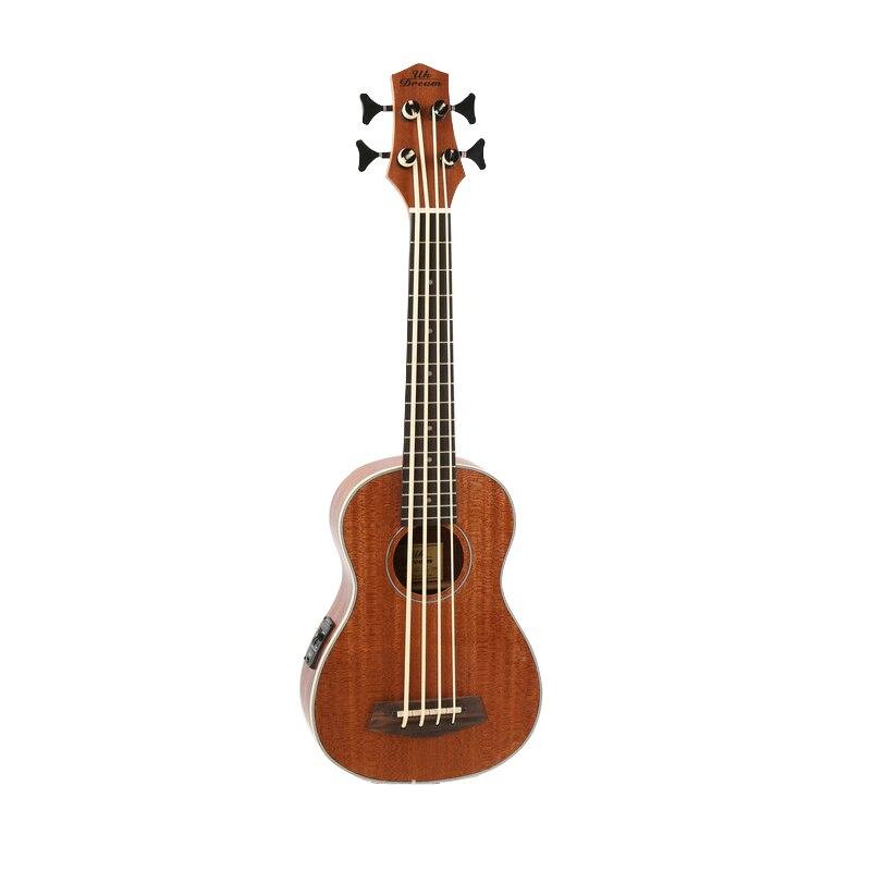 Mini ukelele eléctrico de 30 pulgadas para Guitarra, 4 cuerdas, bajo, instrumentos...
