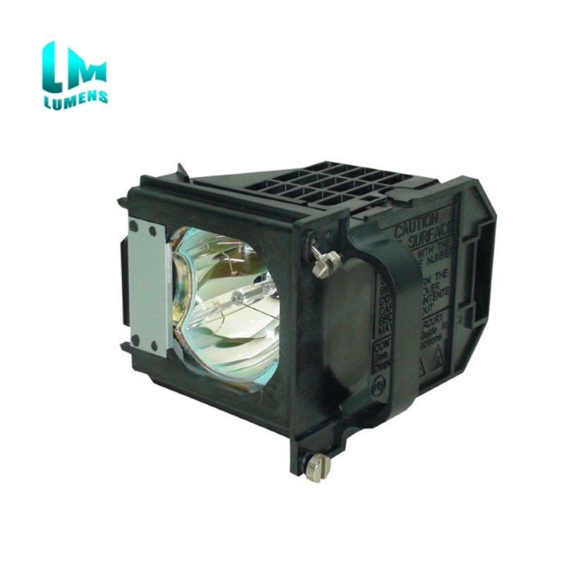 TV bombilla de lámpara proyectora de proyección trasera 915P061010 con la vivienda para Mitsubishi WD-57733 WD-57734 WD-57833 WD-65733 WD-65734