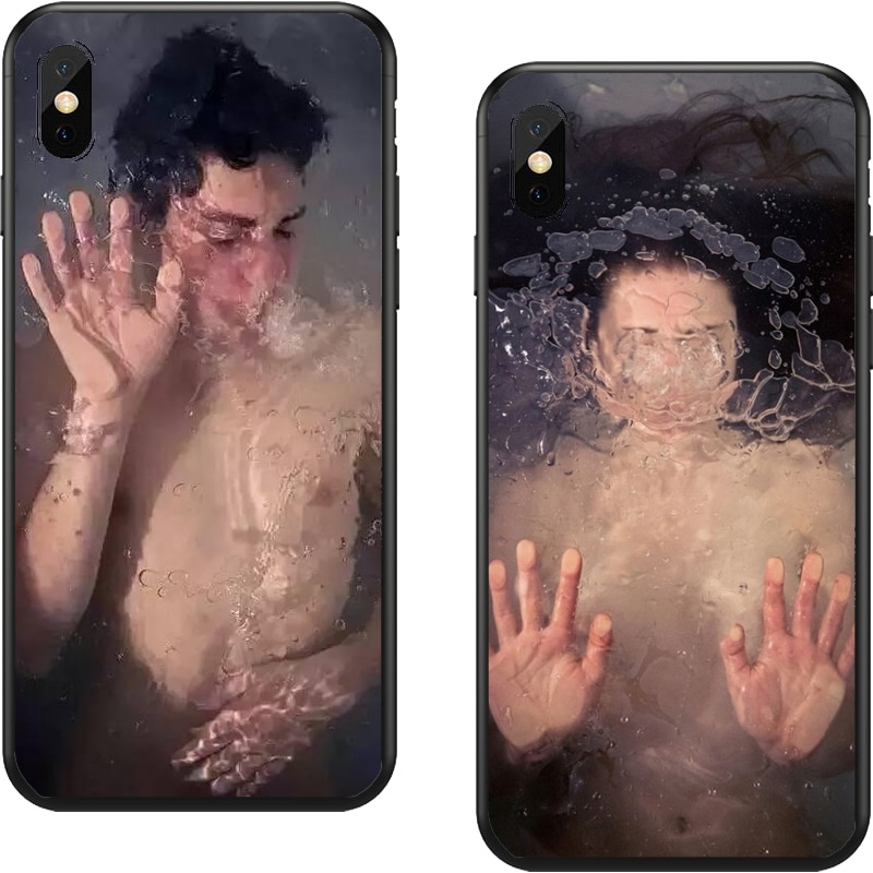 Funda de plástico Para teléfono móvil iphone, carcasa de TPU de plástico...