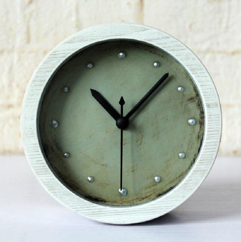 3D stereoscopic metal nails home decor reloj despertador al fajr clock watches quartz digital automobile clock retro watch round