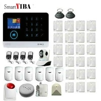 SmartYIBA     systeme dalarme de securite domestique  double reseau  wi-fi   GSM  controle vocal a distance  SMS GPRS  2G SIM