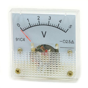 91C4 Class 2.5 Accuracy DC 0-5V Voltage Volt Panel Meter