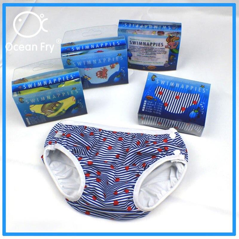 Niños traje de baño bebé pañal reutilizable bañadores de natación niños pequeños niños niñas impermeable pañales a prueba de fugas pantalones cómodos